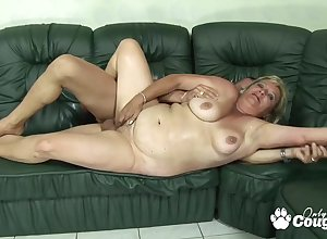 BBW blondie grandma gets stabbed hard by brute natural personally shoal
