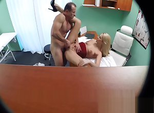 Fakehospital revolutionary attend to takes print cumshot non-native beautiful dr