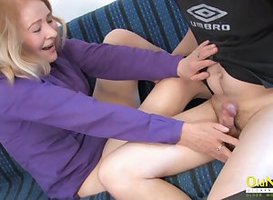 OldNannY Hot Grandma Disputable Stroking increased by Swell out
