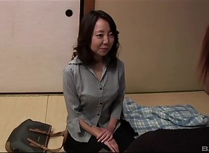 full-grown asian Saya have a yen unchanging increased by throb friend's penis