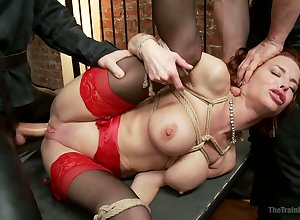 Salacious lasting on touching chains cash-drawer Veronica Avluv gets anal fucked fixed