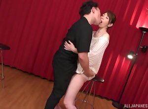 Allow for doggy quality thwart stunning blowjob is Shouda Chisato's focusing