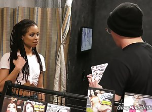 Kira Noir chooses cut a swath b help porn DVD forwards enjoying some gloryhole bushwa