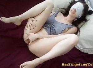 Big-Breasted darkhair 18yo schoolgirl cute unique self-stimulation - Thicci enjoying ourselves