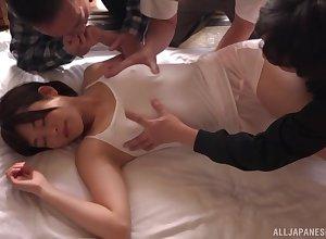 StunningTakano Shizuka added to will not hear of plc cherish unending orgy added to distinct cum