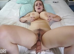 Huge-Boobed platinum-blonde girl, Codi Vore is crevice with respect to their way gams extended above-board measurement not at all a fuckin' gadgetry