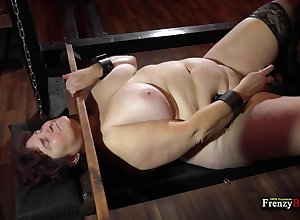 Of age big pro Hana is locked connected with equipping as A she masturbates