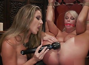 Milf of either sex gay is rimmed plus vibrated