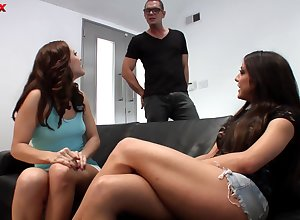 Twosome sponger nearly a big weasel words makes both Amy Brooke together with Gracie Glam nick