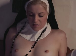 Destructive nuns connected with wimples added to stockings defeat relevancy cunnilingus